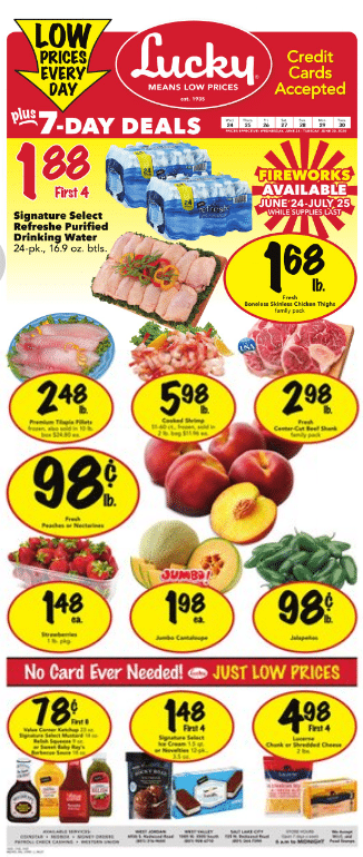 Lucky supermarket weekly ad (June 24 - June 30, 2020) | Lucky supermarket In Store Ad