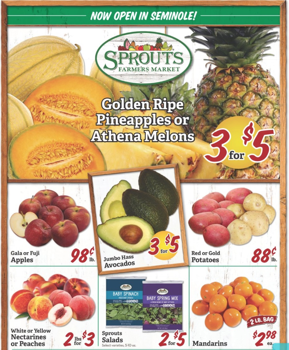 Sprouts weekly ads (July 22 - July 28, 2020) | Sprouts In Store Ads