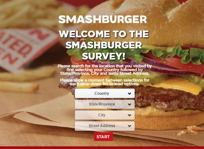 www.Smashburgersurvey.com - Smashburger Survey