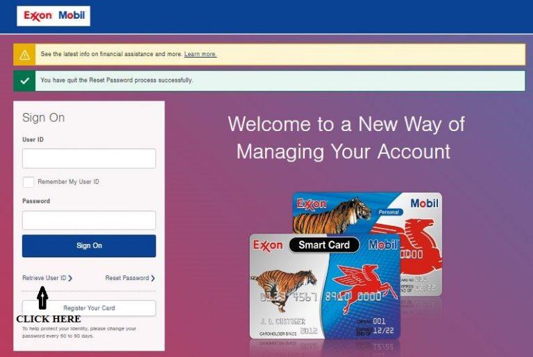 www.exxonmobilcard.com – Exxonmobil Account Online Login