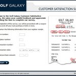 www.golfgalaxy.com/feedback – Golf Galaxy Customer Survey