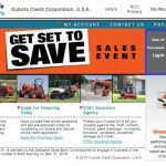 Kubota Credit USA Login at www.kubotacreditusa.com