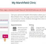 Mymarshfieldclinic - My Marshfield Clinic Login www.marshfieldclinic.org