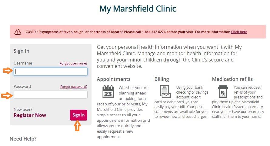 Mymarshfieldclinic - My Marshfield Clinic Login www.marshfieldclinic.org