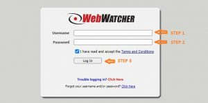 Webwatcher Login at www.webwatcherdata.com