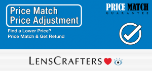 Lenscrafters Price Match Guarantee